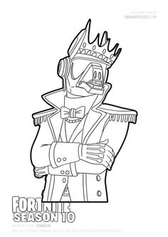 Yond3r #fortnite #fortnitebattleroyale #fanart #coloringpages #draw #drawingtutorial Coloring Pages For Boys, Coloring Pages To Print, Free Coloring Pages, Coloring Sheets, Coloring Books, Album Design, Lil Uzi Vert Cartoon, King Drawing, Epic Games Fortnite