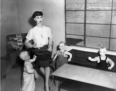 Nuclear test site dummies, Nevada 1953