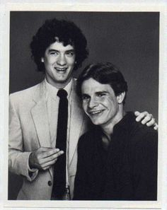 Tom Hanks and Peter Scolari in their 'Bosom Buddies' days