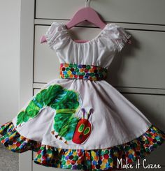 Tutorial: Very Hungry Caterpillar Party Dress