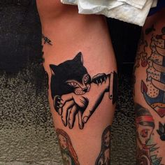 your next tattoo as an homage to Charlie cat?