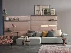 Sectional sofa Comp. Set /04 by Twils design Giuseppe Viganò