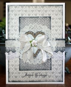 Wedding Card *Blue Fern Studios* - Scrapbook.com