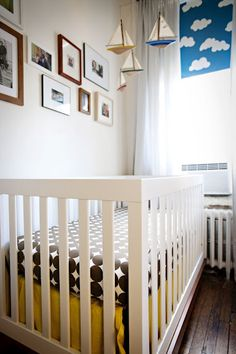 Cloud shades. A CUP OF JO: Toby's nursery