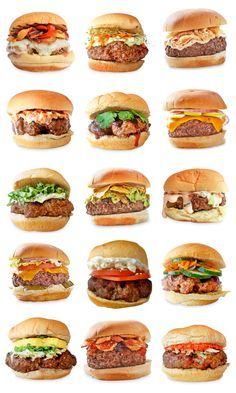 15 Different Ways to Top Your Burger - Try pesto, guacamole, sriracha, tzatziki, and more.