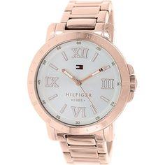 Tommy Hilfiger Women's 1781472 Rose Gold Stainless-Steel Analog Quartz Watch