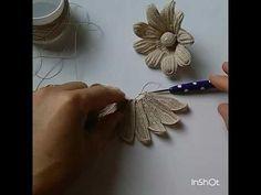 Sık iğne lale yapımı dantelanglez çiçek yapımı - YouTube