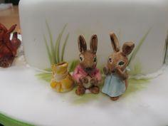 Beatrix Potter Cake Characters Beatrix Potter Cake, Characters, Cakes, Cake Makers, Figurines, Kuchen, Cake, Pastries, Cookies
