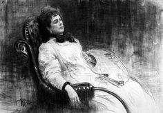 Илья Ефимович Репин (1844–1930 гг.) Портрет М.К. Тенишевой, 1898 г.