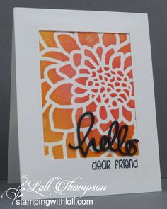 Stamping with Loll: NBUS Challenge #7