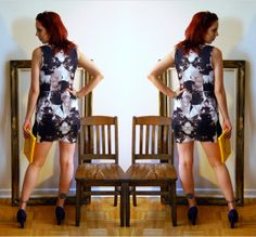Dress from @H&M makes my legs look amazing! Read more!: http://www.thepurplescarf.ca/2014/04/Fashion.My-Style.H-and-M.Party-Ready.html #fashion #style
