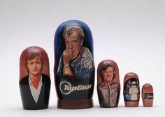 Matryoshka russian doll nesting doll Top Gear Clarkson