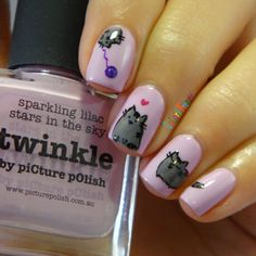Colors Frenzy: piCture pOlish Twinkle and Pusheen The Cat