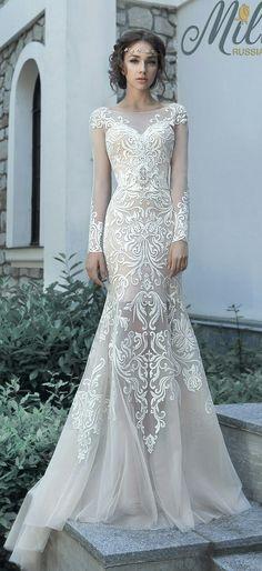 6 Wedding Dress Designers We Love for 2017   Pinterest   Wedding ...