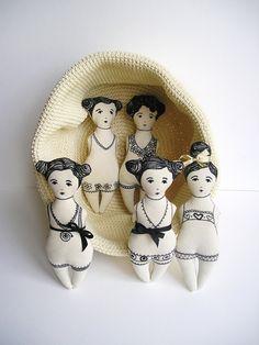 Muñecas de trapo sexy SERAFINA 5