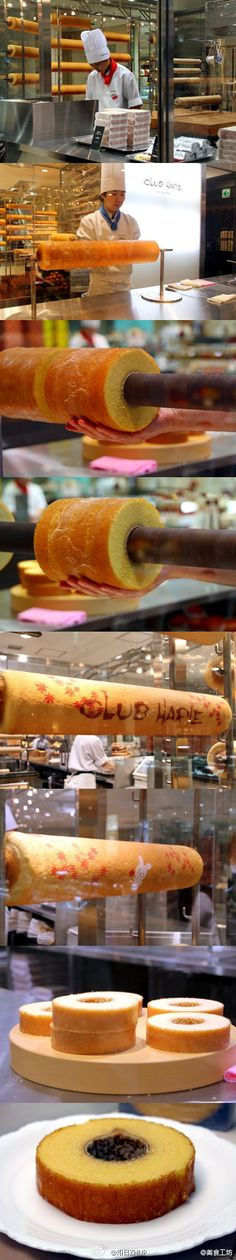 【Love maple Tokyo's famous Baumkuchen traditional history of six years, not a piece of it to?