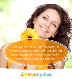 Eleve sua autoestima e viva melhor! http://maisequilibrio.com.br/dicas-para-elevar-sua-autoestima-7-1-6-795.html