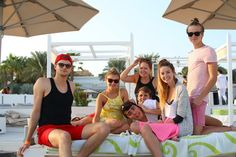 A few of the gang in Dubai. Can i just say, the Vlogmas vids in Dubai that Zoella did made my Zalfie heart soar