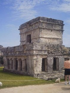 Mayan Ruins of Tulum, Mexico, photo taken March 11, 2008.