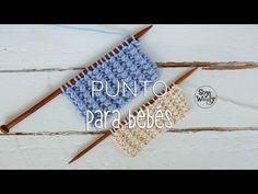 El blog de Dmc: Tutorial punto fácil para tejer ropa de bebés en tricot por Soy Woolly