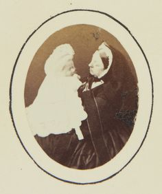 Queen Victoria and Prince Albert Victor, 1864 [in Portraits of Royal Children Vol.8 1864-1865] | Royal Collection Trust