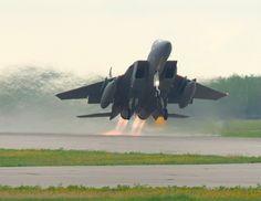 F-15 Eagle Taking Off