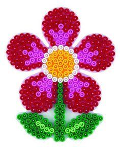 Blume Hama Perlen