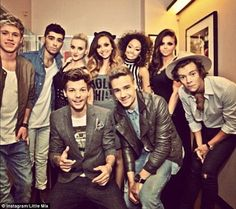 1D and Little Mix