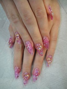 I love stiletto nails anime nails anime and anime style japanese nail art with 3d nail art japanese nail art 2013 hipsterwall hipsterwall prinsesfo Gallery