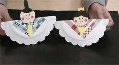 雛人形で手作り工作!紙皿で簡単かわいいお雛様の作り方 | コタローの日常喫茶 Diy Crafts For Kids, Fun Crafts, Arts And Crafts, Craft Activities, Toddler Activities, Diy Paper, Paper Crafts, Paper Plate Art, Hina Matsuri