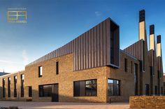The Charterhouse Science & Mathematics Centre, Godalming (UK) by Design Engine Architects © Design Engine #Architecture #Zinc #VMZINC #Bricks #PIGMENTO #UK #BrickAwards2019