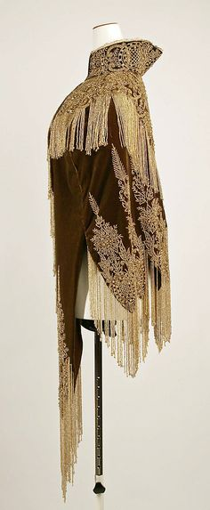 Cape at the Met Date: 1880s Culture: probably American