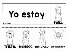 Spanish high frequency words flip books (Libritos palabras de alta frecuencia) - Spanish Profe