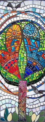 Mosaic. The You Me We Tree, Susan Crocenzi