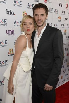 James and Chloe Sevigny attend the A+E Networks 2013 Upfront at NYC Lincoln Center - May 2013 Homicide Detective, James D'arcy, Chloe Sevigny, American Crime, Lincoln Center, Tv Series, Nyc, Board, Sign