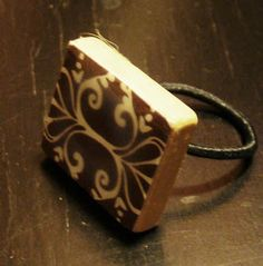 2e72a2dd28095 How to make a scrabble tile ring Scrabble Tile Jewelry