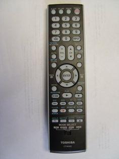 Toshiba CT-90302 Factory Original Remote Control by Toshiba. $7.69. Remote Control
