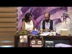 CW Artesanato - Carlos Saad - Mulher.com - Rede Século XXI - Caixa para Chá - YouTube
