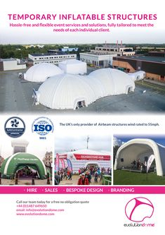 The UK's only provider of Airbeam structures wind rated to Temporary Structures, Event Services, Bespoke Design, Evolution, Flexibility, Branding, Events, World, Travel