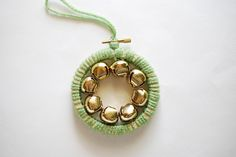 I Heard the Bells Ornament by wildolive, via Flickr
