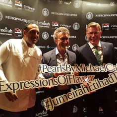 Eddie Jordan at the World Childhood Foundation event at #PearlsByMichaelCaines! #ExpressionsOfFlavour #JumeirahEtihadTowers #AbuDhabiGP