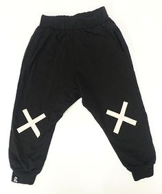 This Black No Falling Down Pants - Infant, Toddler & Kids is perfect! #zulilyfinds
