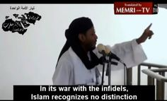 Muslim Cleric Says Islam Sees No Distinction Between Combatants and Civilians, So Killing American Women and Children Is Fine