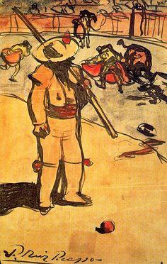 Picador - Pablo Picasso 1900