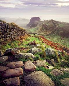 Hadrian's Wall - want to hike it from one end to the other I'll do it with you Dottie if you want company! xx