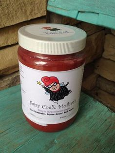 Barn Red - Fairy Chalk Mother Chalky Finish Paint 32oz