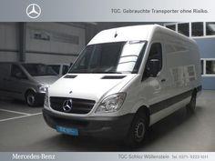 Mercedes-Benz Sprinter 313CDI Kasten Maxi 3-Sitze/Euro5/Holzb.    Jetzt für nur 26.000€  (MWSt. ausweisbar)