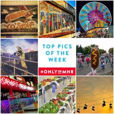 The Minnesota State Fair is a summer tradition in Minnesota. #OnlyinMN