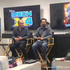 What goes into #mechx4? Executive Producers @marmels and @anupamnigam are talking monsters tech and where the show started. #mechx4event