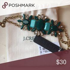 NWT J CREW statement bracelet Never worn! J. Crew Jewelry Bracelets